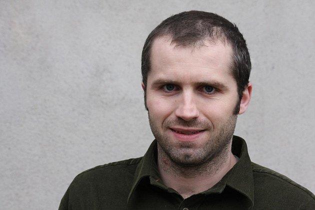 Místostarosta Přibyslavi Martin Kamarád.