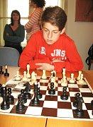 Havlíčkobrodský šachista Jakub Satrapa byl nejmladším účastníkem turnaje.