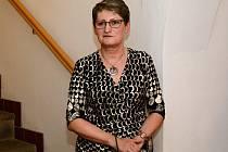 Ředitelka Galerie výtvarného umění v Havlíčkově Brodě Hana Nováková.