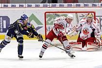 Rebelové nestačili na ústecké Lvy a po kontumaci 0:5 v lednovém domácím zápase si žádné body nepřipsali ani na ústeckém ledě.