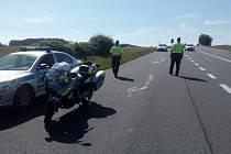 Během dvou a půl hodin zkontrolovali policisté sto padesát vozidel.