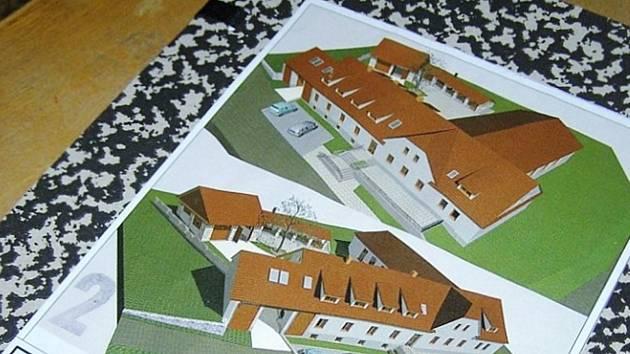Na sokolovně ve Vísce se podepsal čas, starosta Ondřej Čapek má projekt na rekonstrukci.