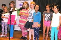 Malí čtenáři si připravili pro svoje kamarády také kulturní program a na závěr složili i malou zkoušku ze čtení.