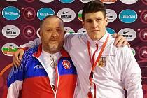 Talentovaný havlíčkobrodský zápasník Marcel Albini by rád v budoucnu napodobil slavného předchůdce Marka Švece a získal olympijskou medaili.
