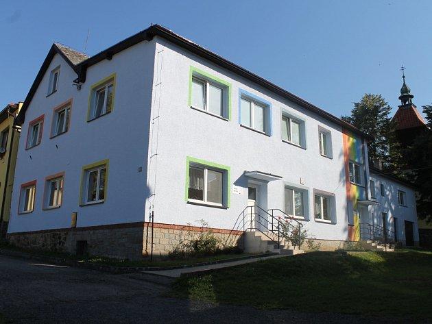 Mateřská škola v Lučici.