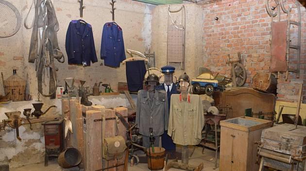 Originální muzeum starých věcí  ve Vepříkově na Chotěbořsku.