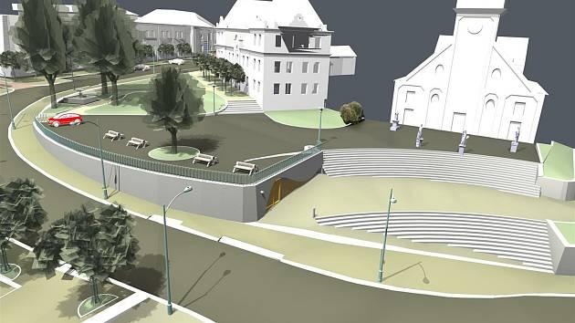 Nová podoba náměstí ve Světlé.
