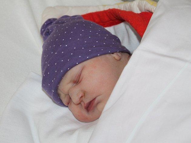 Adéla Gleiznerová, Jiřice, 12. 9. 2014, 3 500 g