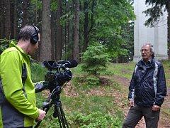 Na snímku je pracovník Turistického a informačního centra Jaroslav Vála.