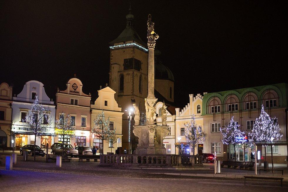 Havlíčkovo náměstí v Havlíčkově Brodě.