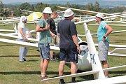 Plachtařský pohár Vysočiny začal v Havlíčkově Brodě v sobotu 22. července.