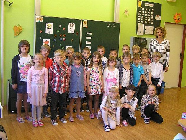 Na fotografii jsou žáci ZŠ a MŠ Ždírec nad Doubravou, třída 1.B paní učitelky Mgr. Hany Markové.