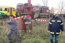 Železniční nehoda ve Ždírci nad Doubravou se stala na podzim roku 2008.