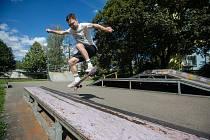 Skatepark v Havlíčkově Brodě.