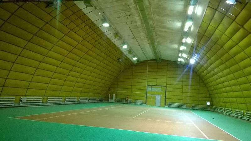 Tenisová hala ve Světlé nad Sázavou před rekonstrukcí. Foto: poskytl Tomáš Rosecký