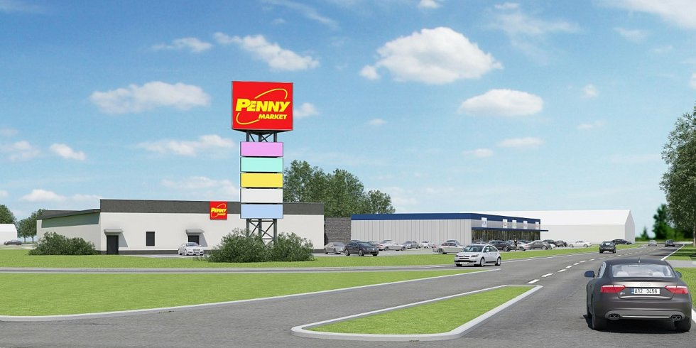 Takto bude vypadat nová nákupní zóna ve Ždírci.