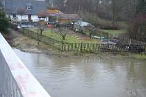 S napětím se dívají na situaci na řece Sázavě také obyvatelé Pohledu.