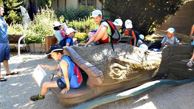 Děti se v průběhu tábora dozvěděly mnoho zajímavého o zvířatech.