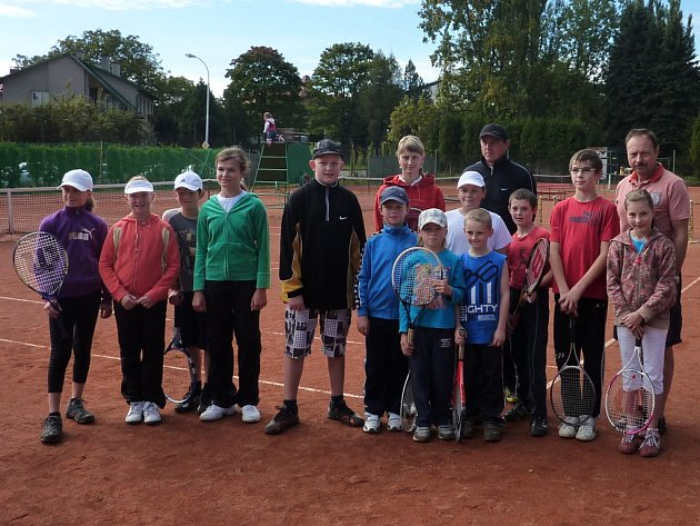 Velmi živo bylo na chotěbořských tenisových kurtech, kde se během dvou dnů vystřídaly všechny místní tenisové naděje.