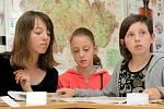 Malé redaktorky Pavouka si povídaly s redaktory Havlíčkobrodského deníku o tom, jak se dělají noviny.