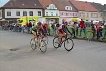 Jednou z hlavních hvězd brodské cyklistické stáje je Tomáš Čer (vlevo).