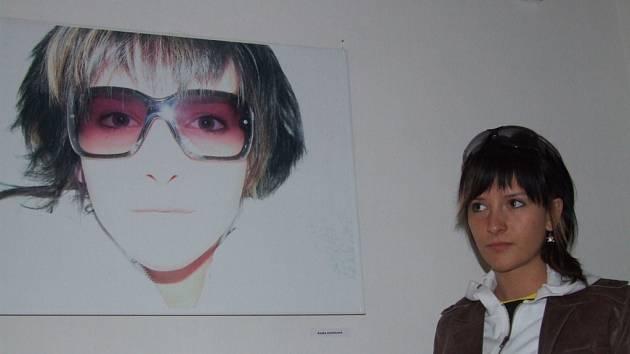 Mladá a ambiciózní výtvarnice, kterou učil brodský umělec Václav Černoch, se ve světě neztratí.