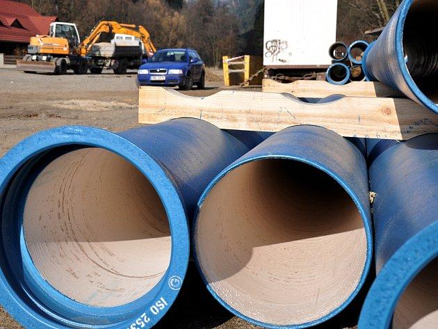 Rekonstrukce vodovodu. Ilustrační foto.