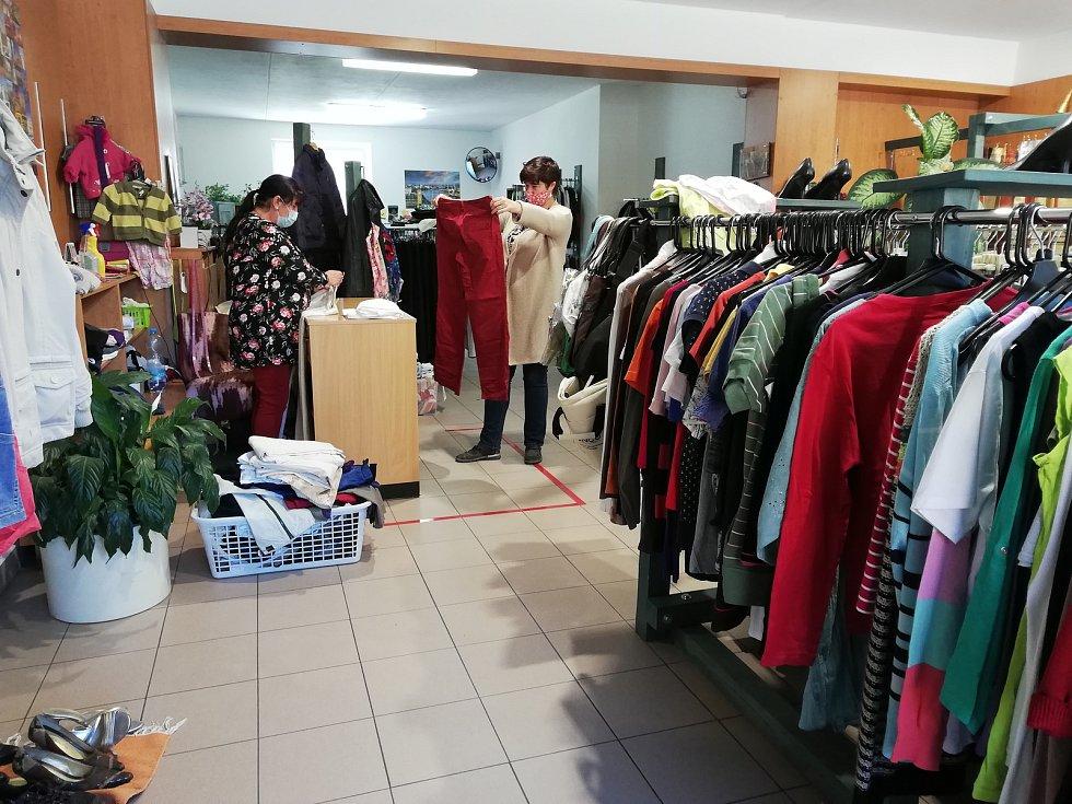 Znovu otevřené obchody v Pelhřimově