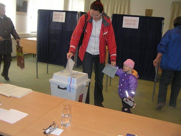 Volby v Přibyslavi.