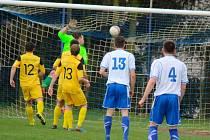 Fotbalisté Pohledu se v derby s Leštinou ujímají vedení. Zápas však nakonec skončil remízou 1:1.