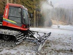 V Havlíčkově Brodě přemýšlejí o tom, jak stávající podobu lyžařského areálu ve Vysoké změnit.