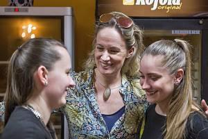Slovenská herečka, která svůj domov našla v Brně, je v soukromí velmi příjemná a vstřícná.