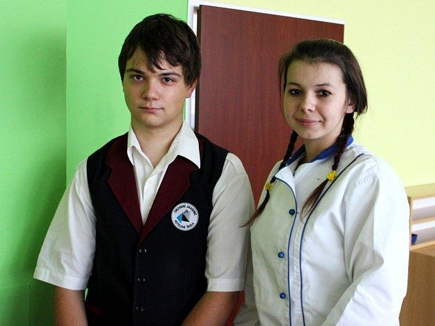 Uspějí Josef Osztatni a Lucie Kubíková s wrapem a cottage salátem v celorepublikové soutěži?