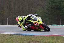 S novou motorkou to Michalu Práškovi jezdí na výbornou. V prvním závodě sezony – Jarní cena Brna – dojel na prvním místě.