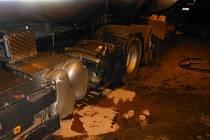 Nehoda cisterny. Ilustrační foto