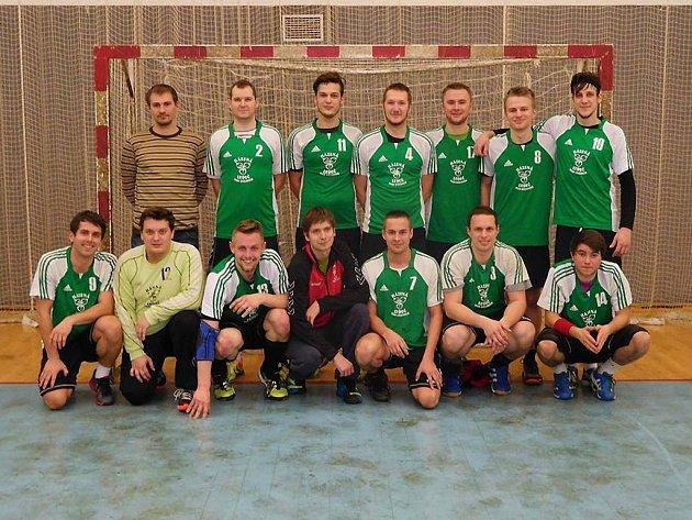 Vítězný tým Ledče nad Sázavou.