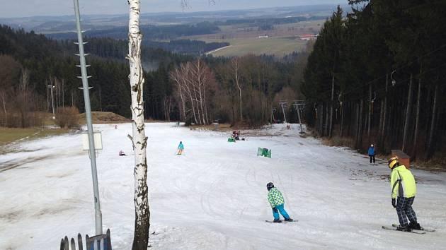 Vydařené lyžování.
