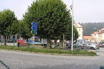 Po přestavbě křižovatky se centrum Ledče výrazně změní.