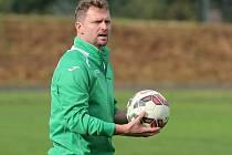 Trenér Martin Slavík.