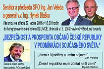 Jan Veleba zve občany na veřejnou besedu.