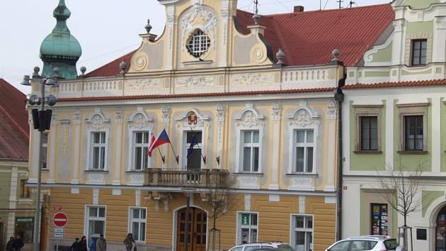 Radnice v Havlíčkově Brodě.