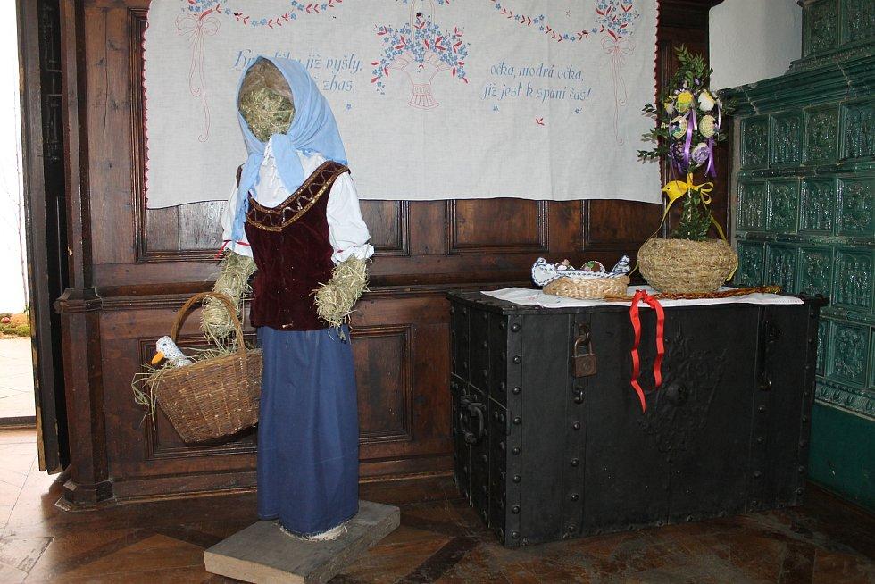 Výstava Jaro na vsi v chotěbořském muzeu.