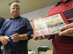 Křest knihy Havlíčkův Brod včera a dnes od autorů Milana Šustra a Michala Kampa.