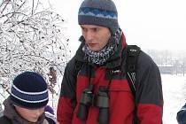 David Šorm (v červeném) při jedné z akcí pořádaných pro děti.