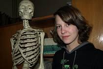 Marie Machová našla zálibu v biologii. Znalosti ze soutěží zúročí i při studiu na gymnáziu.