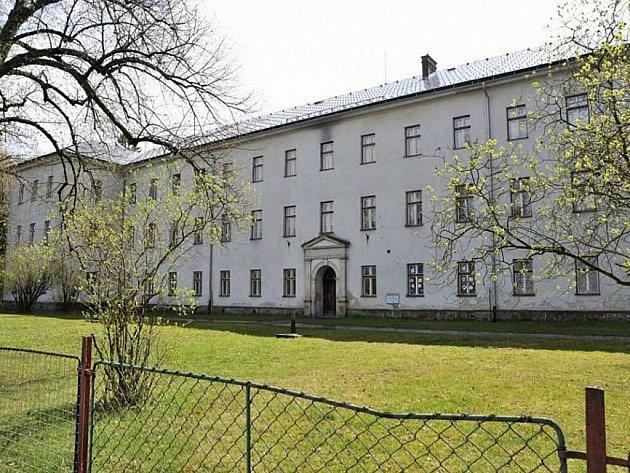 Bývalý výchovný ústav v Králíkách.