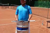 Vítěz dvouhry Martin Kubát.