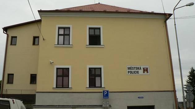Budova městské policie Havlíčkův Brod
