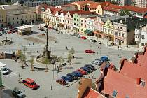 Z ptačí perspektivy. Havlíčkobrodské Havlíčkovo náměstí je v současné době pýchou okresního města. Prošlo náročnou a také nákladnou modernizací.