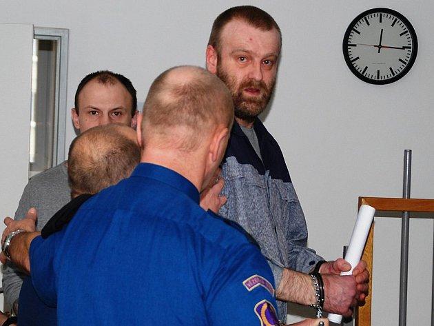 Na Vysočině loni řádil pětičlenný gang zlodějů, který se specializoval na krádeže traktorů tovární značky Zetor. Tehdy byl hlavní organizátor akce Radim Nosek (na snímku).